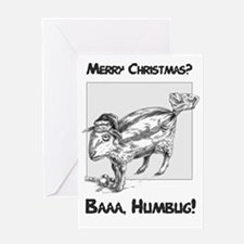Baaa Humbug! Christmas card