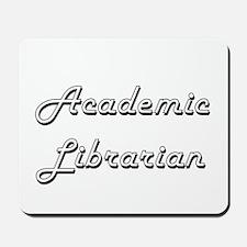 Academic Librarian Classic Job Design Mousepad