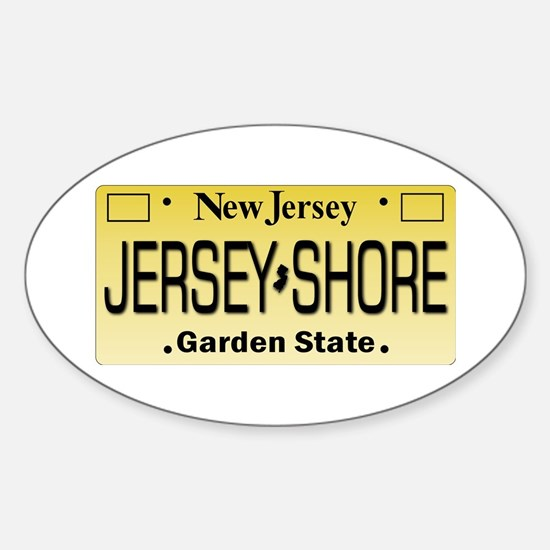 Jersey Shore Tag Giftware Decal