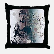 Pretty Buddha Throw Pillow
