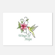 WINGS OF HOPE Postcards (Package of 8)