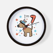 I'm 7 Wall Clock
