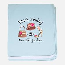 BLACK FRIDAY baby blanket