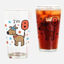 I'm 8 Drinking Glass
