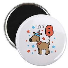 I'm 8 Magnet