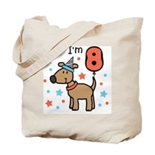 I'm 8 Tote Bag