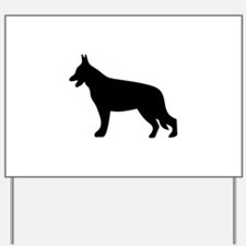 GSD SILHOUETTE Yard Sign