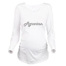 Agrarian Classic Job Long Sleeve Maternity T-Shirt