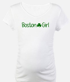 Boston Girl Shamrock (Green) Shirt