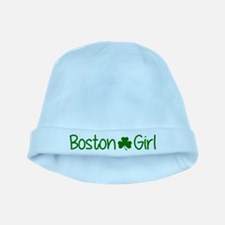Boston Girl Shamrock (Green) baby hat
