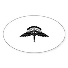 Cute Parachuting Decal