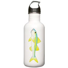 Yellow Goatfish Water Bottle