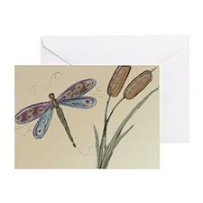 Dragonfly Art Card