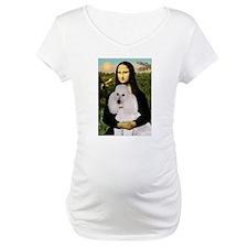 Mona's Standard White Poodle Shirt