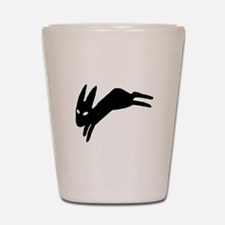 Watership Down Shot Glass