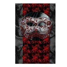 Harvest Moons Masquerade Postcards (package Of 8)