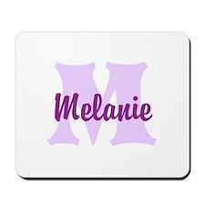 CUSTOM Lilac Purple Monogram Mousepad