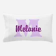 CUSTOM Lilac Purple Monogram Pillow Case