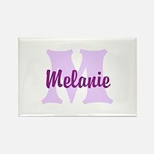 CUSTOM Lilac Purple Monogram Magnets