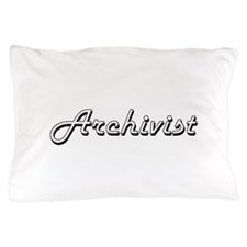 Archivist Classic Job Design Pillow Case