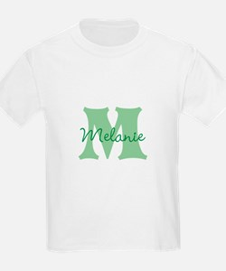 CUSTOM Green Monogram T-Shirt