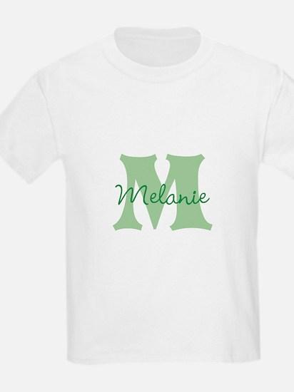 CUSTOM Green Monogram T-Shirt