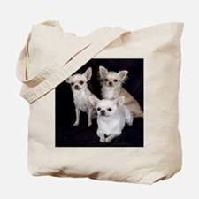 Adorable Chihuahuas Tote Bag