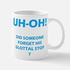 Glottal Stop Mugs
