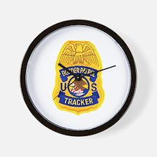 Border Patrol Tracker Wall Clock