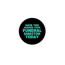Funny Funeral urns Mini Button