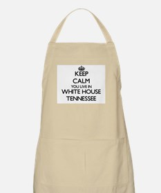 Keep calm you live in White House Tennessee Apron