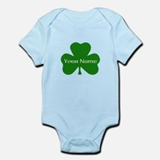 CUSTOM Shamrock with Your Name Body Suit