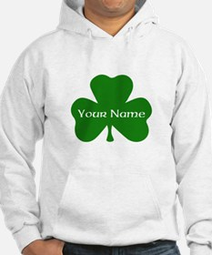 CUSTOM Shamrock with Your Name Hoodie