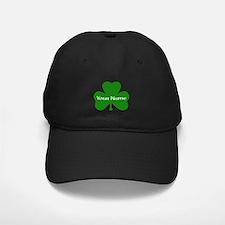 CUSTOM Shamrock with Your Name Baseball Hat