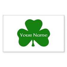 CUSTOM Shamrock with Your Name Decal