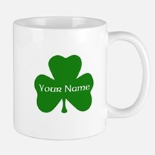 CUSTOM Shamrock with Your Name Mugs