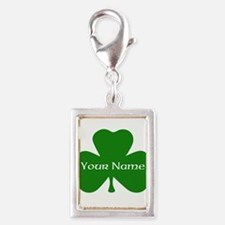 CUSTOM Shamrock with Your Name Charms