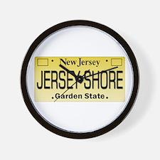 Jersey Shore Tag Giftware Wall Clock