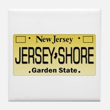 Jersey Shore Tag Giftware Tile Coaster