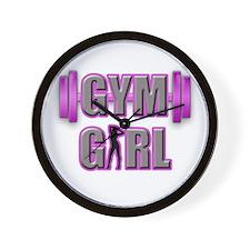 Gym Girl Design 3 Wall Clock