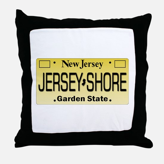 Jersey Shore Tag Giftware Throw Pillow