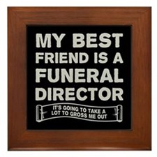 Cool Funeral urns Framed Tile