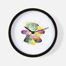 STELLA GINGERBREAD MAN Wall Clock