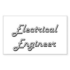 Electrical Engineer Classic Job Design Decal