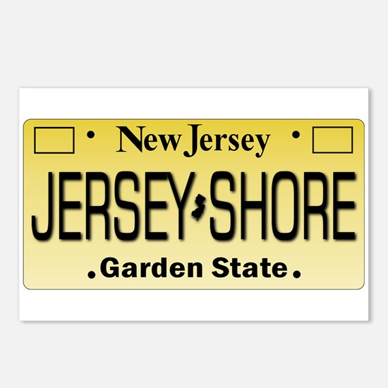 Jersey Shore Tag Giftware Postcards (Package of 8)