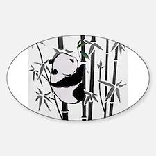panda and bamboo Decal