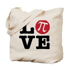 Love Pi Tote Bag