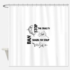 Stop The Cruelty Shower Curtain