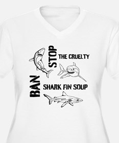 Stop The Cruelty Plus Size T-Shirt