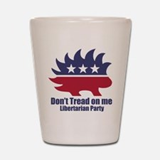 Libertarian Party Shot Glass